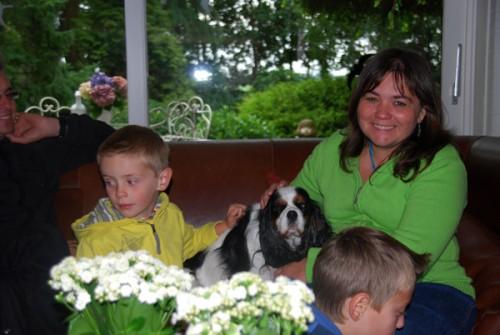 I Sandra & dog c 600